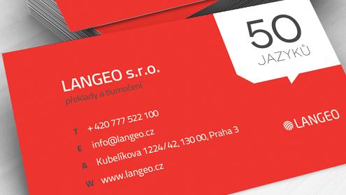 LANGEO je nově LANGEO s.r.o.