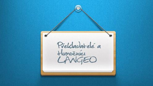 Překladatelé a tlumočníci - LANGEO