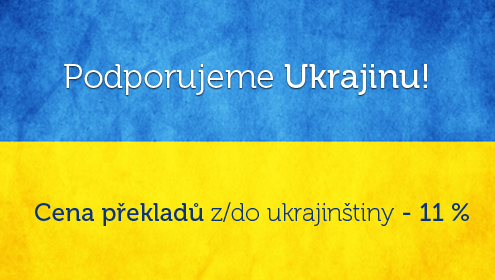 Překlady ukrajinštiny se slevou