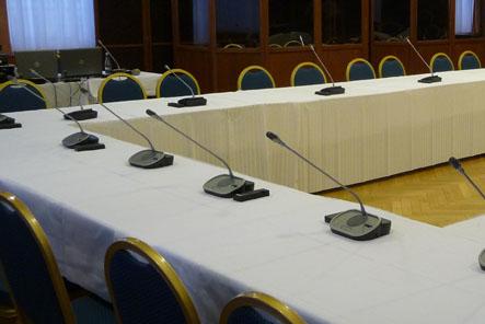 Konferenční mikrofony