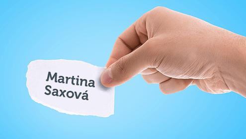Martina Saxová - nová manažerka LANGEO