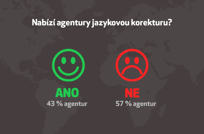 Jak nabizi překladatelské agentury jazykovou korekturu